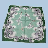 Flying Seagulls Handkerchief