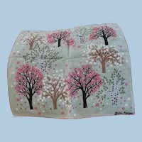 Billie Kompa Tree Handkerchief