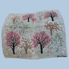 Billie Kompa Tree Handkerchief