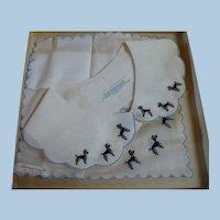 Poodle Handkerchief & Collar