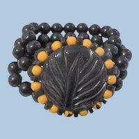 Bakelite Beaded Bracelet