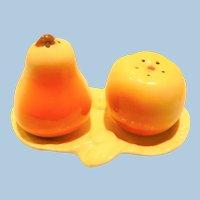 Erphilia Pear Apple Tray Salt & pepper