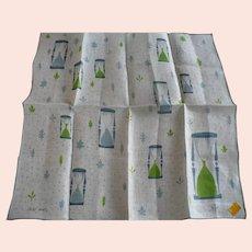 Faith Austin Hourglass Handkerchief