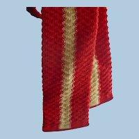1940s knit Tie
