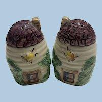 porcelain Beehive Salt Pepper Set