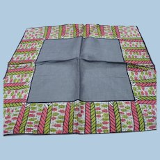 1940s DecoHandkerchief