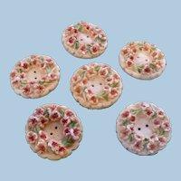 Five Floral Buttons