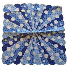 Deco Modernist Polkadot Handkerchief