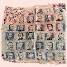 Presidents of America Handkerchief