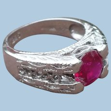 Sterling Stone Ring