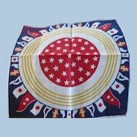 Nautical Cotton Handkerchief