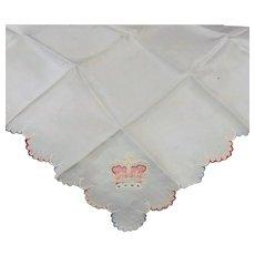 Silk Crown Handkerchief