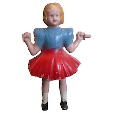 Celluloid Girl Figure