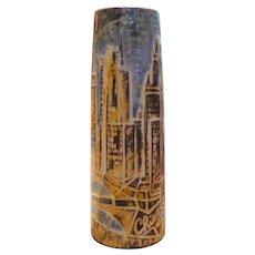 Handmade Chicago Vase