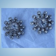 Kramer Rhinestone Earrings