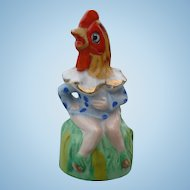 Girl Rooster Bell