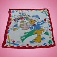 Disney Donald Nephews Handkerchief