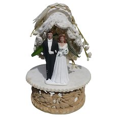 Wedding Cake Topper 1940's