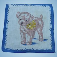 Childs Dog Handkerchief