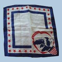 Patriotic Eagle Handkerchief