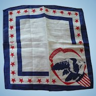 Patriotic Eagle Handkerchief