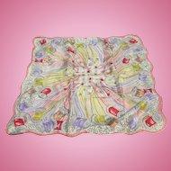 Silk Thread Spools Scarf Sewing