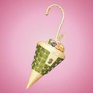 Straw Umbrella Purse