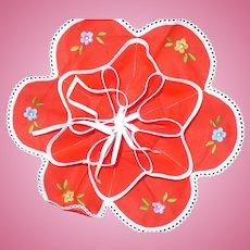 Embroidered  Bun Warmer