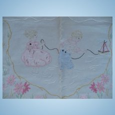 Embroidered Childrens Cloth
