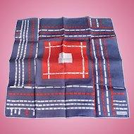 Kreier Geometric Handkerchief