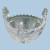 Waterford  Crystal Butter Bowl