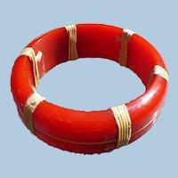 Nautical Bakelite Bracelet