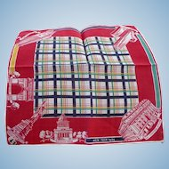 1939 New York Handkerchief