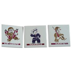 Marines Army Air Corp Ceramic Tiles