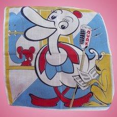 Tom Lamb Duck & & Frog Handkerchief