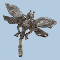 Trifari Small Dragonfly Pin