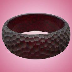 Bakelite Dimple Bracelet