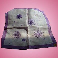 Jeanne Miller Baubles Handkerchief
