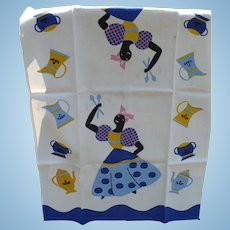 Black Woman Towel