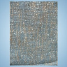 Multicolor Tweed Rayon Silk Linen Fabric