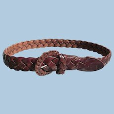 Ralph Lauren Belt Woven Leather