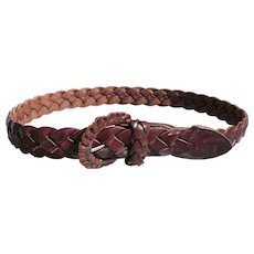 Ralph Lauren Belt Woven Leather