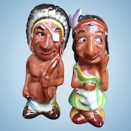 Indian Man & Woman Salt & Pepper