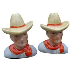 Cowboy Salt & Pepper Set