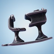 Sterling Desk Charm