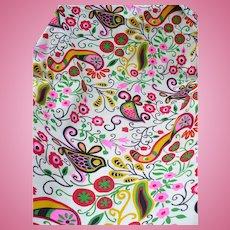 Floral Multicolor Fabric