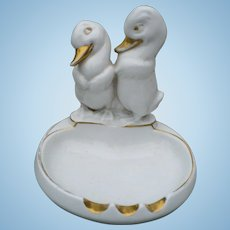 Porcelain Duck Lamp