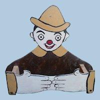 Folk Art Towel Holder