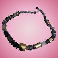 Brutalist Boho 70's Necklace