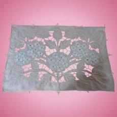 Hydrangea Cutwork Mat